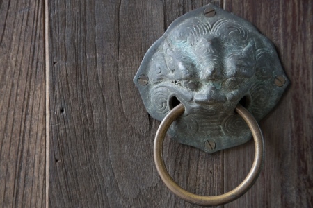 Ancient door knob photo