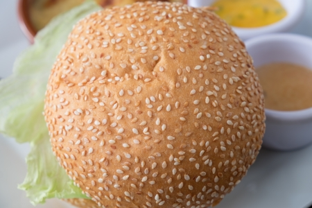 Hamburgur Bread  photo