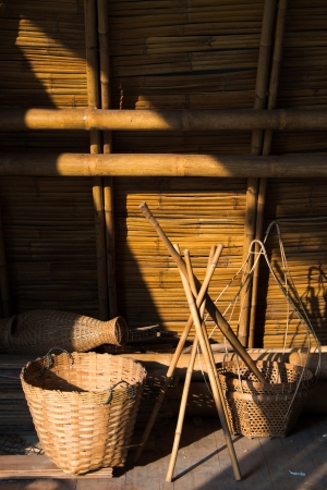 Weaving basket photo