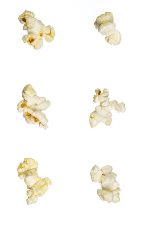 isolated popcorn photo