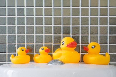 squeaky clean: Rubber duck