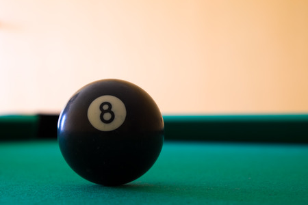 Eight ball photo