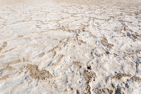 salt flat: salt flat Stock Photo