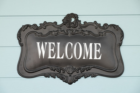 Welcome sign photo