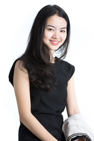 Young business lady photo
