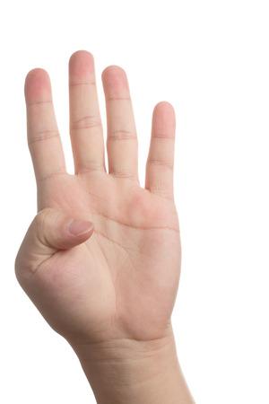 Hand signal photo