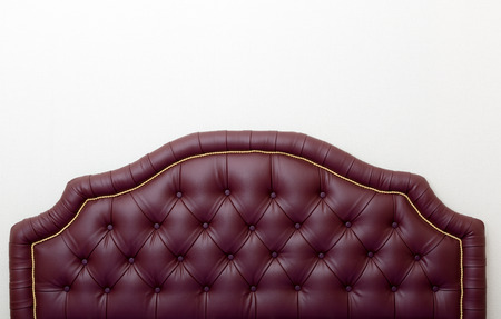 Texture of vintage buttoned leather stylish upholstery