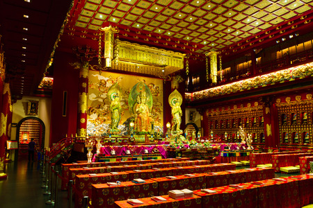 venerable: Inside the Buddha Tooth Relic Temple, Singapore