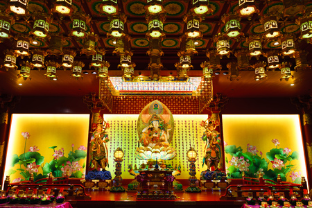 relic: Inside the Buddha Tooth Relic Temple, Singapore