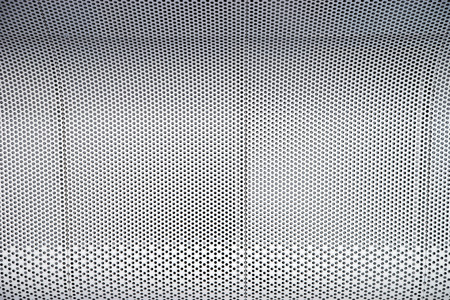 grille: Modern metal grille texture in grey color