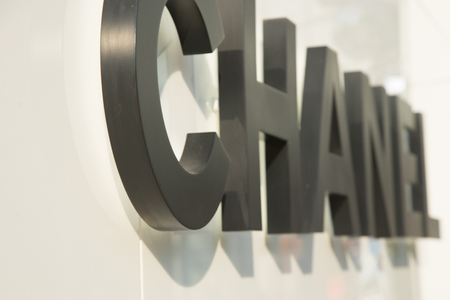 chanel: BANGKOK, THAILAND - CIRCA FEBUARY 2016: Chanel store sign from Em Quatier shopping mall.