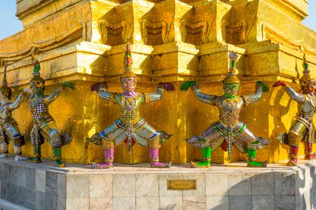 the emerald city: Landmark from the emerald temple, Bangkok, Thailand