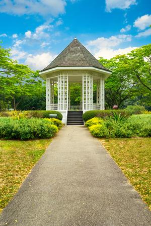 botanic: Band stand landmark at Singapore Botanic Garden