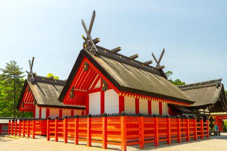 shinto: Shrine from sumiyoshi grand shrine, Osaka, Japan