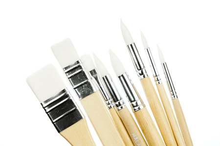Paint brush isolated  on white back ground
