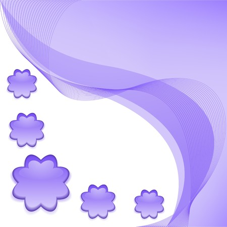 Lilac abstract background Vector