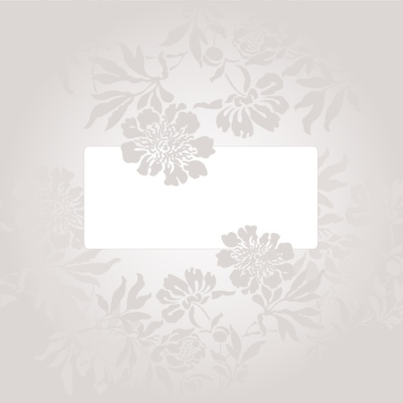 abstract background with a white card in a beautiful gray color Stock Vector - 9256112