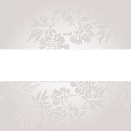 abstract background with a white band in a beautiful gray color Vector