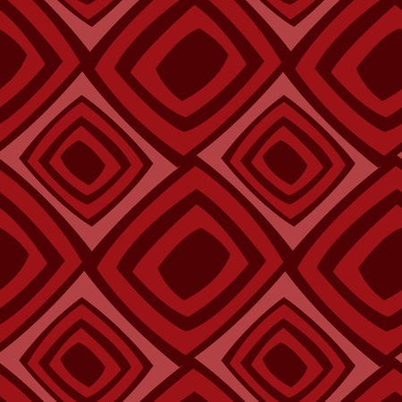 Seamless background from red stylized squares Vector