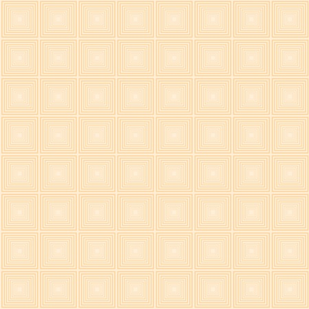 seamless pattern of orange squares on a beige background Vector