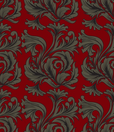 tapestry: seamless background with a beautiful antique ornaments