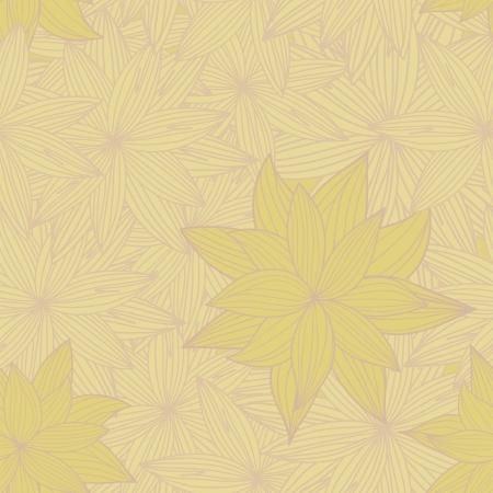 sheeted: seamless yellow background of beautiful flowers