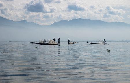 inle: Inle lake fisher