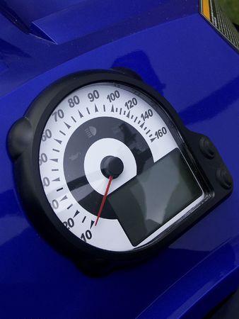 kph: Scooter speedmeter