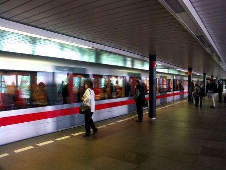 Undergroun in Prag