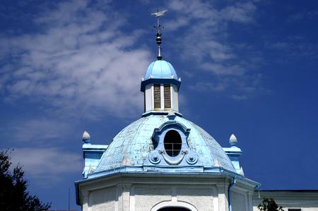 copula: Blue bath house - copula