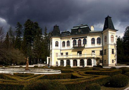 Slovac manor hose -  Betliar Stock Photo