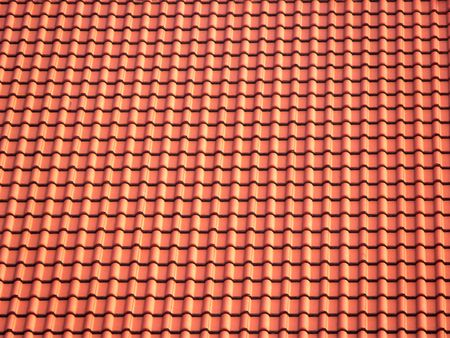 roof tiles: Ceramic roofing tiles texture Stock Photo