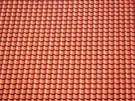 Ceramic roofing tiles texture Stock Photo