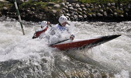 Kayak on the rapids