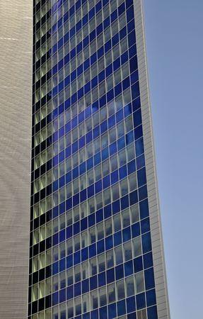 rowth: Skyscraper windows Stock Photo