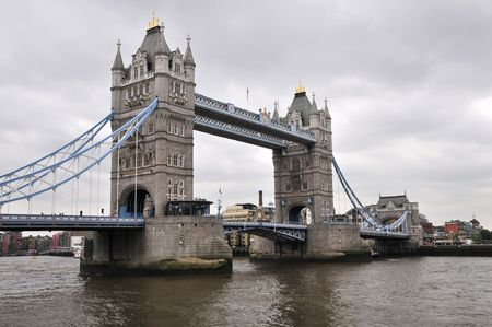 steel bridge: Tower bridge