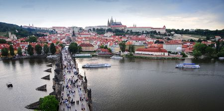 Prag city of the Vltava Stock Photo - 3330925