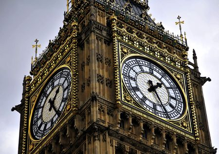 palace of westminster: Tower Clock - Big Ben of London