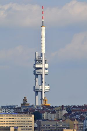 Television tower in Prag