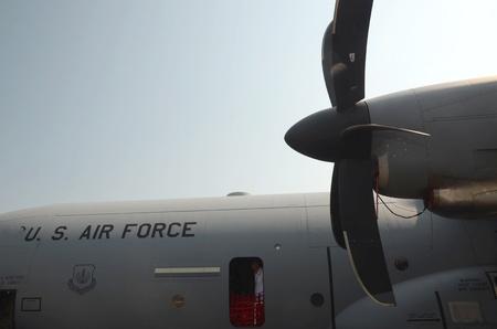 turboprop: international air fest siaf 2011-Hercules C 130 US Air Force Editorial