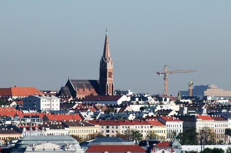 Panorama of Vienna photo