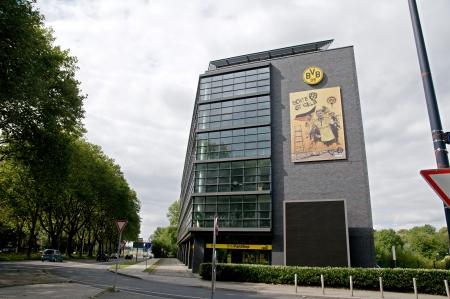 Dortmund Germany September 2012:Borussia Dortmund - Fan Shop Editorial