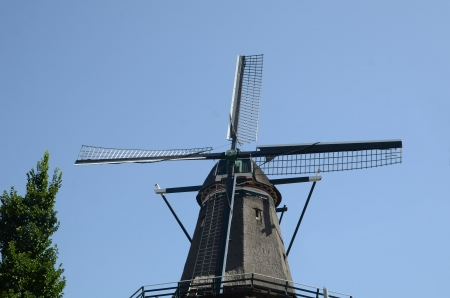Windmill in Holland photo