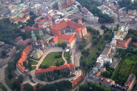 Cracow-Krakow, Poland Juni 2013 Wawel Castle in Cracow photo