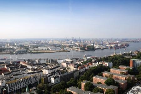 Hamburg Germany September 2012 The Port of Hamburg