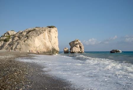 afrodite: Luogo di nascita di Afrodite s di Cipro Archivio Fotografico