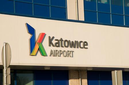 PYRZOWICE, POLAND - november 2015: Exterier KatowiceKatowice airport - Terminal C