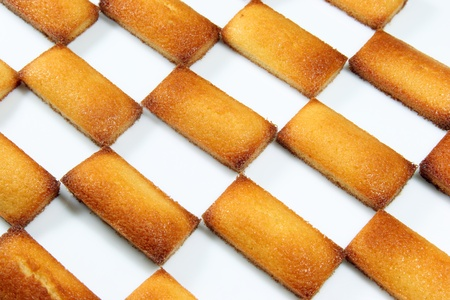 french pastry: details of a french pastry, the financier