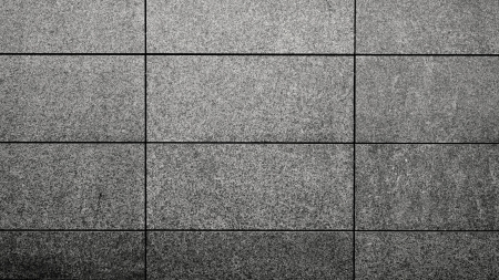 Details of an outdoors  wall made with slabs of beton in the city. Stock Photo - 21424955