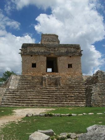 Accident Mayan Ruins - Dzibilchaltun photo